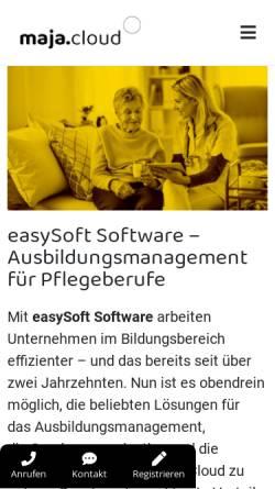 Vorschau der mobilen Webseite www.hs-krieglach.at, Hauptschule Krieglach