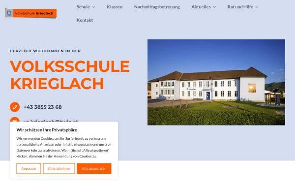 Vorschau von www.vs-krieglach.at, Volksschule Krieglach