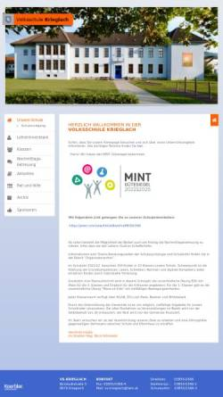 Vorschau der mobilen Webseite www.vs-krieglach.at, Volksschule Krieglach