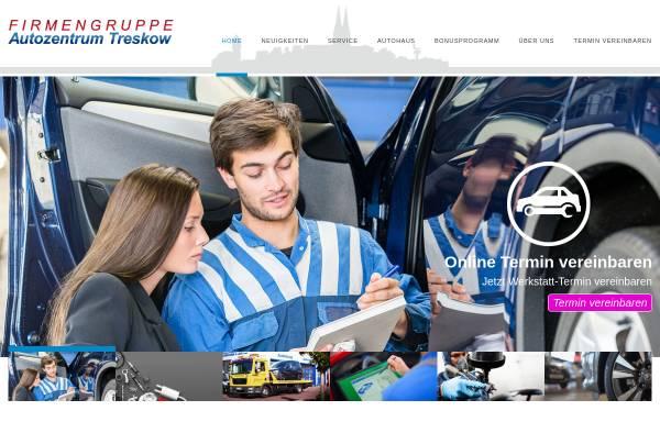 Vorschau von www.autozentrum-treskow.de, Autozentrum Treskow GmbH