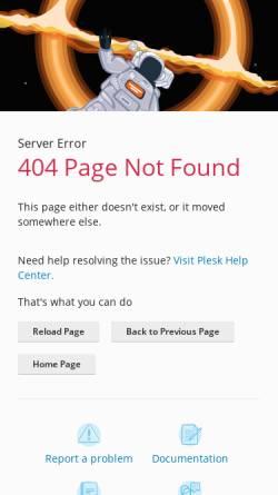 Vorschau der mobilen Webseite www.w3l.de, W3L Online Studium B. Sc. Web- und Medieninformatik