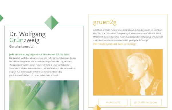 Vorschau von www.gruenzweig.co.at, Grünzweig, Dr. Wolfgang
