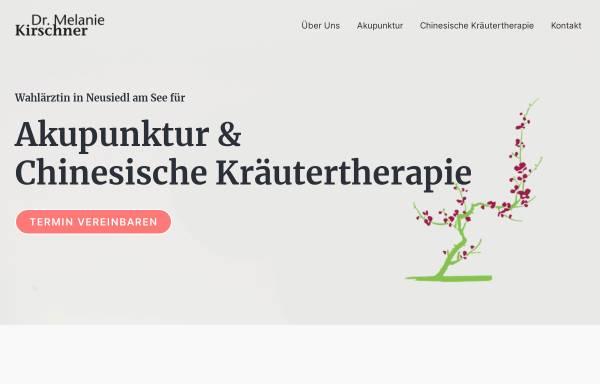 Vorschau von www.ordination-kirschner.at, Kirschner, Dr. Melanie