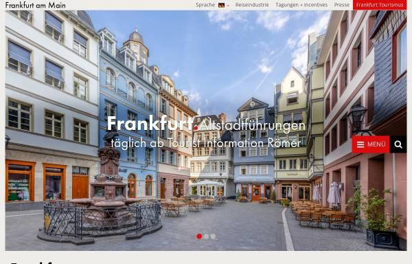 Vorschau von www.frankfurt-tourismus.de, Tourismus und Congress GmbH