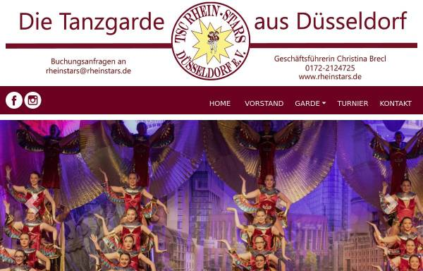 Vorschau von www.rheinstars.de, TSC Rhein-Stars