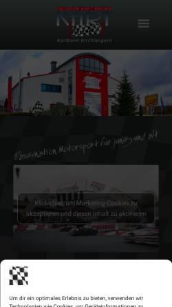 Vorschau der mobilen Webseite www.kart2000-online.de, Kart 2000 - Silberpfeil