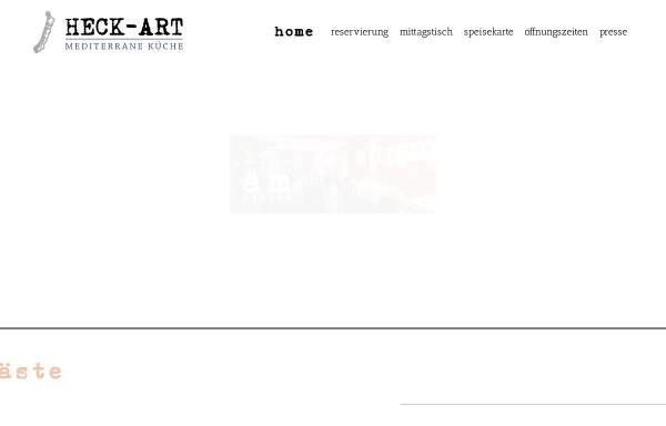 Vorschau von www.restaurant-heck-art.de, Restaurant HeckArt