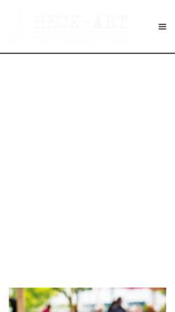 Vorschau der mobilen Webseite www.restaurant-heck-art.de, Restaurant HeckArt