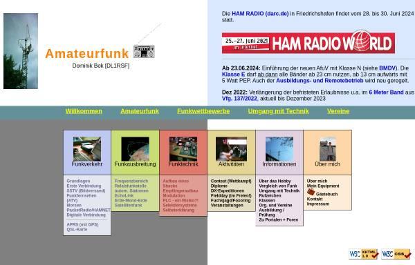 Vorschau von www.alsor.de, Amateurfunk