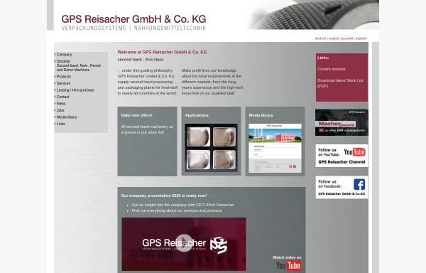 Vorschau von www.gps-reisacher.de, GPS Ulrich Reisacher