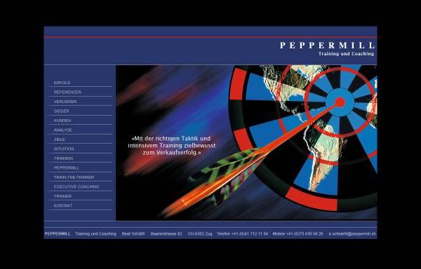 Vorschau von www.peppermill.ch, Peppermill