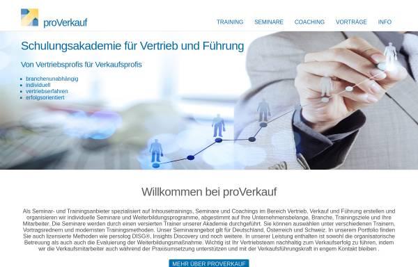 Vorschau von www.proverkauf.de, Sabine Zimmermann proVerkauf