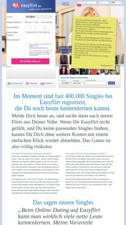 Vorschau der mobilen Webseite www.easyflirt.de, Easyflirt.de, Bitrockers GmbH