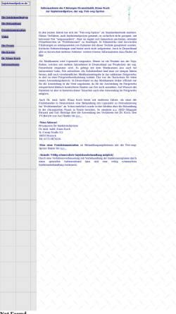 Vorschau der mobilen Webseite www.injektionslipolyse.de, Injektionslipolyse