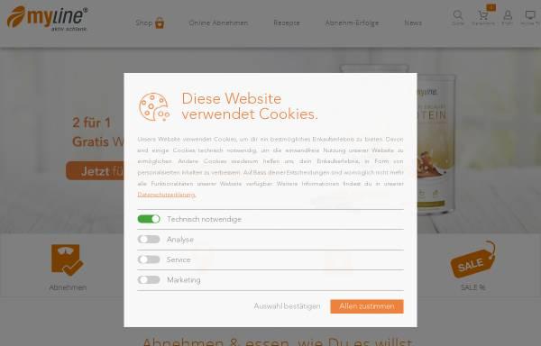 Vorschau von www.myline24.de, My Line