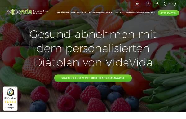 Vorschau von www.vidavida.de, Vidavida Bauchweg Diät