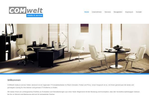 Vorschau von www.comwelt-medien.de, COMwelt Medienservice