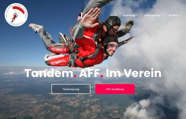 Vorschau von www.fsz-hassfurt.de, Fallschirm-Sport-Zentrum Hassfurt e.V.