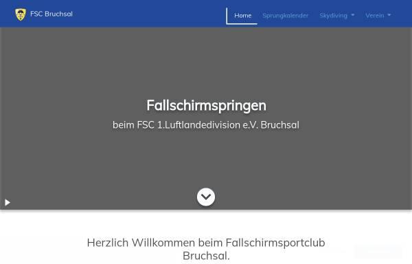 Vorschau von www.fsc-bruchsal.de, FSC Bruchsal e.V.