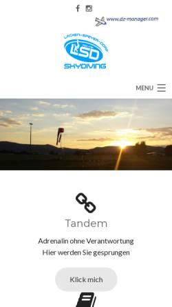 Vorschau der mobilen Webseite www.fsc-nw.de, FSC Neustadt/Weinstraße