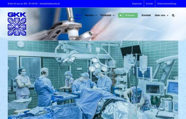 Vorschau von www.diekaltmacher.de, Gesellschaft für Kälte- und Klimatechnik mbH & Co. KG