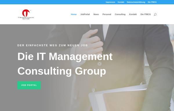 Vorschau von itmcg.de, IT Management Consulting Group GmbH