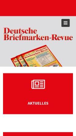 Deutsche Briefmarken Revue Zeitschriften Und Online Magazine