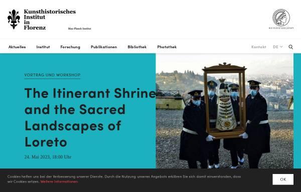 Vorschau von www.khi.fi.it, Kunsthistorisches Institut in Florenz