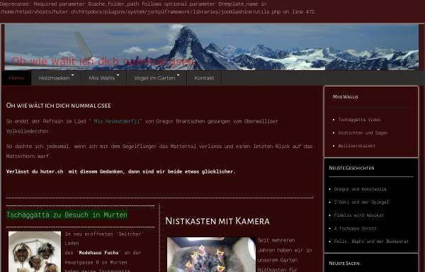 Vorschau von huter.ch, Allfinanz - Etienne Huter