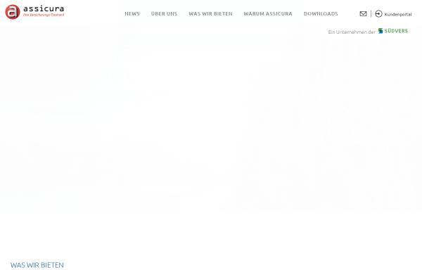 Vorschau von www.assicura.ch, Assicura AG