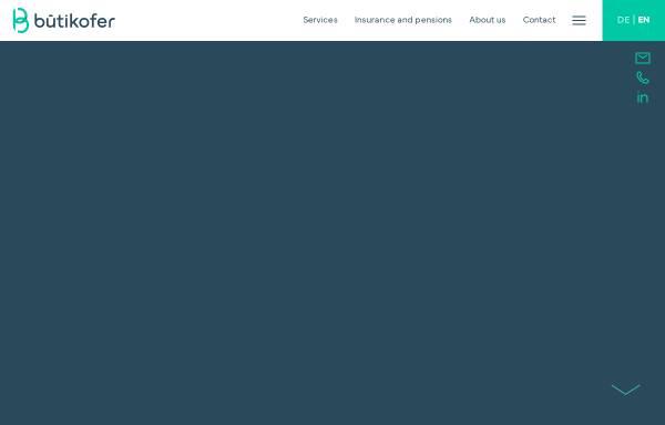 Vorschau von www.buetikofer-ag.ch, Bütikofer & Partner AG