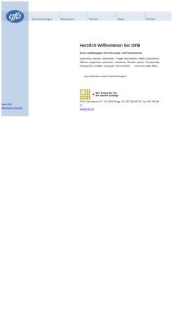 Vorschau der mobilen Webseite www.g-f-b.ch, GFB - Versicherungs- und Finanzberatung