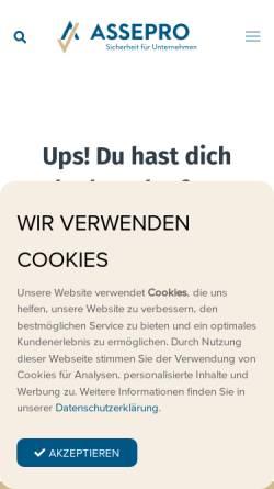 Vorschau der mobilen Webseite www.fraumuenster.com, Versicherungs-Treuhand Fraumünster AG