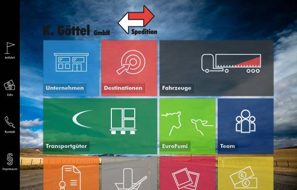 Vorschau von www.spedition-goettel.de, K. Göttel GmbH