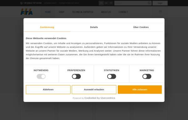 Vorschau von www.fta.ch, FTA Fahrzeugtechnik AG