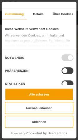 Vorschau der mobilen Webseite www.fta.ch, FTA Fahrzeugtechnik AG