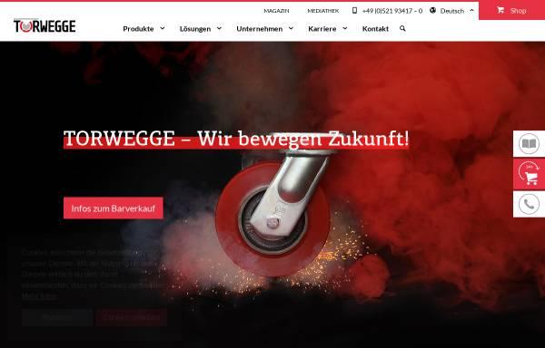 Vorschau von www.torwegge.de, Torwegge GmbH & Co. KG