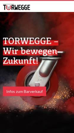 Vorschau der mobilen Webseite www.torwegge.de, Torwegge GmbH & Co. KG