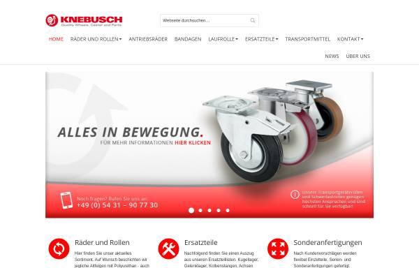 Vorschau von www.knebusch-rollen.de, Knebusch Rollen GmbH