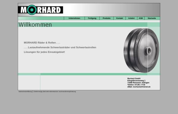 Vorschau von www.morhard-raeder.de, Morhard Räder & Rollen GmbH