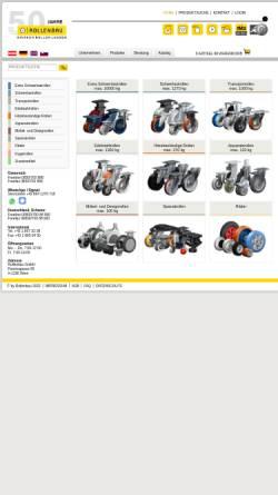 Vorschau der mobilen Webseite www.rollenbau.at, Rollenbau GmbH