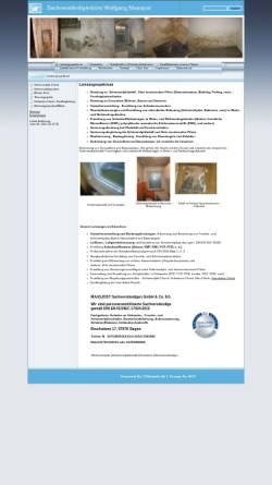Vorschau der mobilen Webseite www.schimmelpilz-check.de, Wolfgang Maasjost GmbH