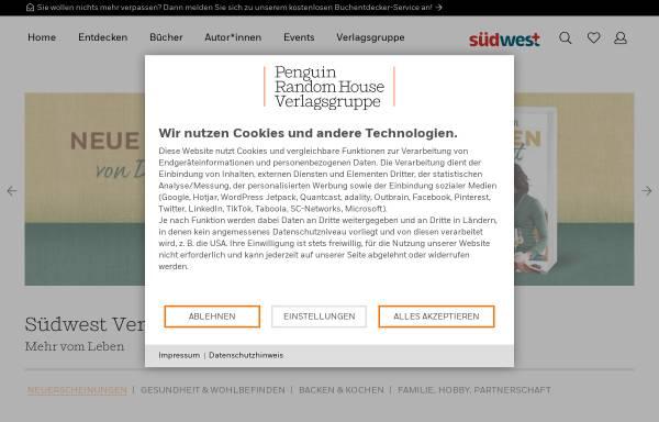 Vorschau von www.randomhouse.de, Südwest-Verlag