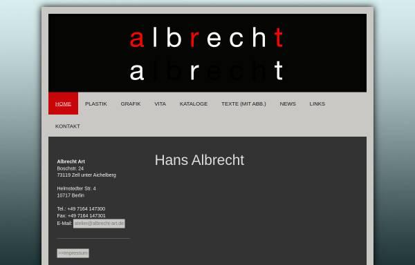 Vorschau von www.albrecht-art.com, Albrecht, Hans