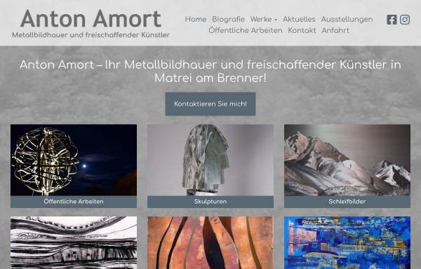 Vorschau von www.antonamort.com, Amort, Amort