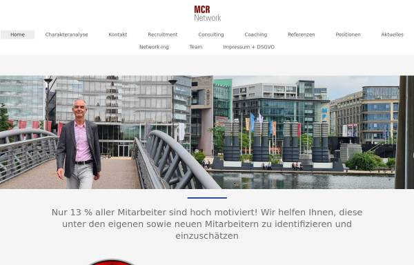 Vorschau von www.mcr-network.com, MCR Network, Inh. Gunnar Thomé