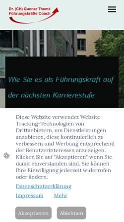 Vorschau der mobilen Webseite www.mcr-network.com, MCR Network, Inh. Gunnar Thomé