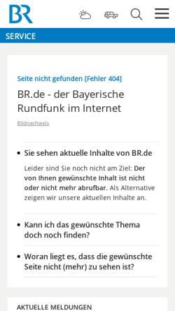 Vorschau der mobilen Webseite www.br-online.de, Wolfgang Sawallisch im Gespräch