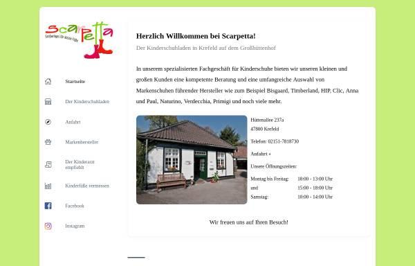 Vorschau von www.scarpetta.de, Scarpetta.de, Elke Zöllner