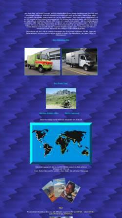 Vorschau der mobilen Webseite www.rsverlag.ch, 6 Jahre in Afrika unterwegs [René Kägi & Sonja Kostezer]